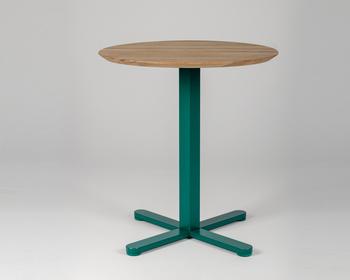 Măsuță Lido - picior pătrat, verde