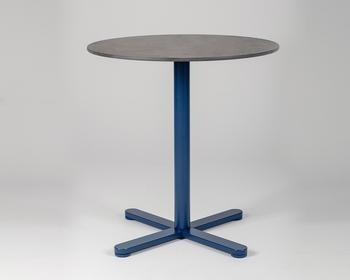 Măsuță Lido - picior rotund, albastru