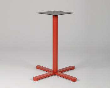 Picior central măsuță - rotund, portocaliu
