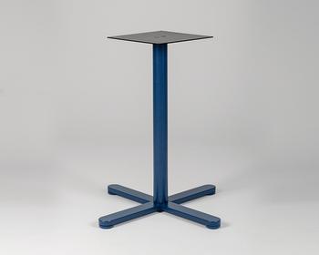 Picior central măsuță - rotund, albastru